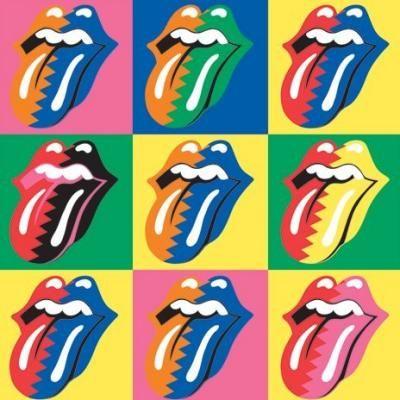 tongen, verschillende kleuren combinaties die niet realistisch zijn.