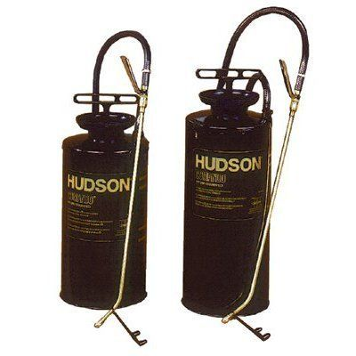 Comando Sprayers - 2-gal galv. camando sprayer by H. D. Hudson. $48.90. 451-96302E Features: -Viton gaskets and seals.-Brass Roto Valve control.-Extension Type: Curved Brass.-Pump Type: Plastic.-Nozzle Type: Pic-A-Pattern Fan/Cone.-Body Material: Galvanized Steel.-Handle Material: Aluminum.-Mounting: Hand-Held.-Type: Pressurized Tank Sprayer.-Applicable Materials: Liquid.-Price is for 1 Each. Dimensions: -Extension Length: 18 in.-Hose Length: 42.0 in.