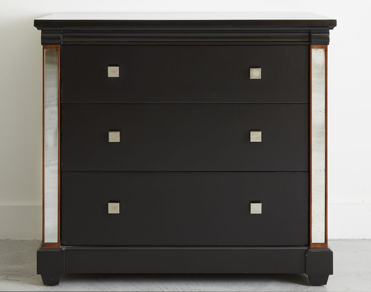 Our Torberry 3 drawer chest embraces sleek modernist style simonhorn.com