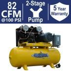 Industrial Plus Series 120 Gal. 20 HP 3-Phase 2-Stage Stationary Electric Air Compressor
