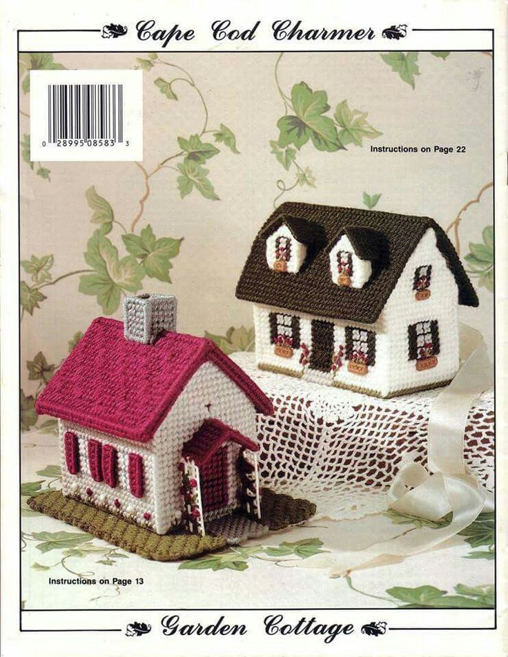 Potpourri Cottages 22 22 Plastic Canvas Plastic Canvas