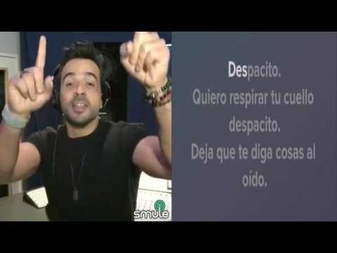 Despacito -  Luis Fonsi (Karaoke Duet) | Sing! Karaoke by Smule - YouTube