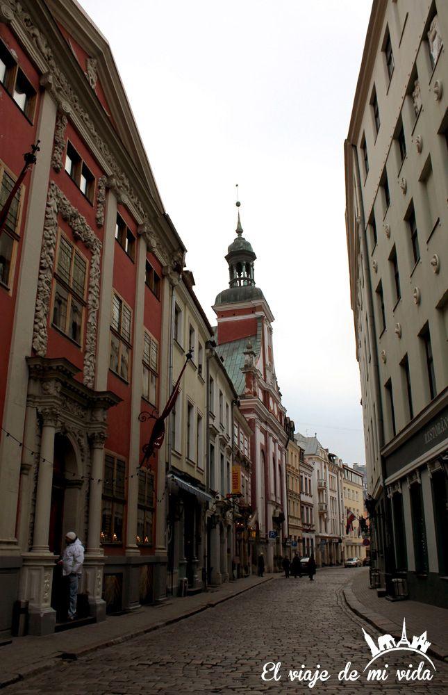 Ciudad Vieja Riga Lituania
