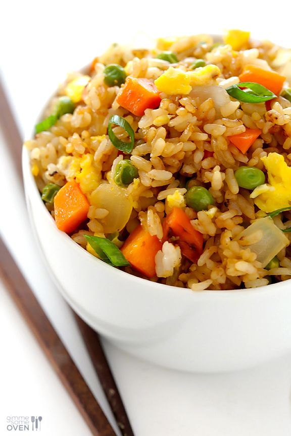 1) Use cold rice: The key to great fried rice is using cold (or even leftover) rice. There's something about the cold rice hitting a hot pan...