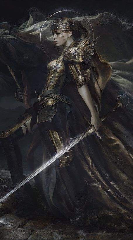 Noted for use of circle and crown in use of suited crown character card.  Eve Ventrue (detail)