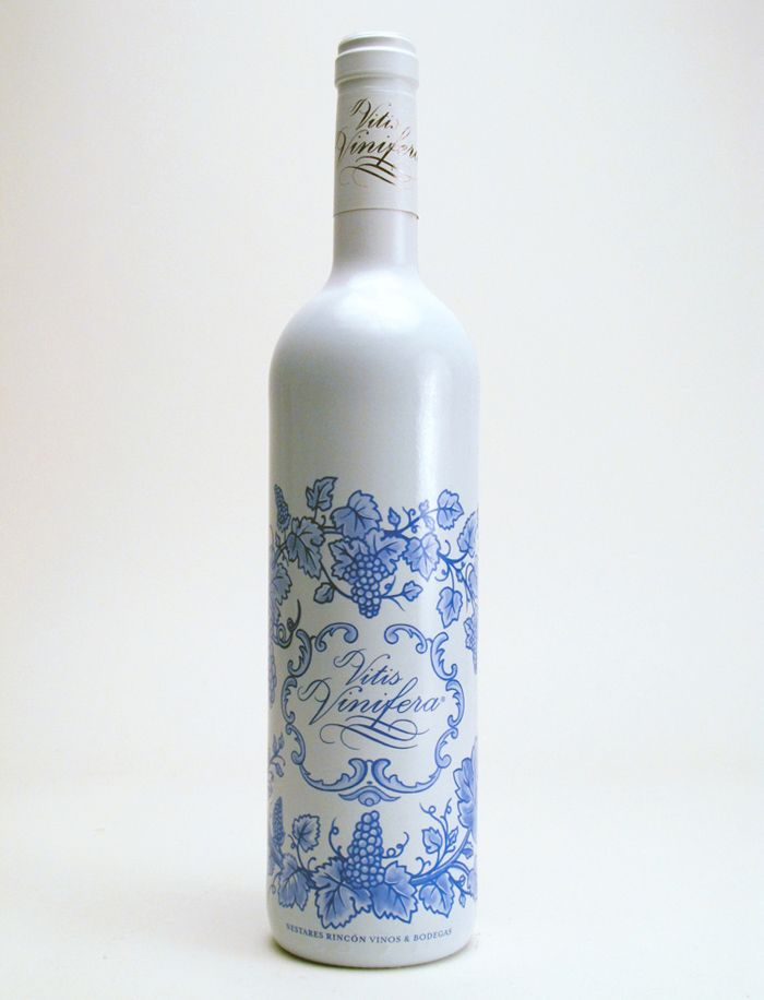 From Lovely Package, Vitis Vinifera, artful and simple packaging draws the eye.