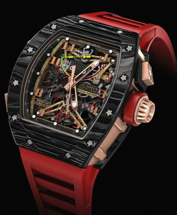 Richard Mille RM 50-01 Sensor Lotus F1 Team Romain Grosjean #Watch