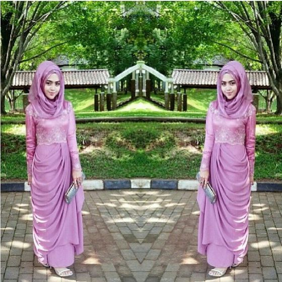 Modern Kebaya Dress Styles with Hijab