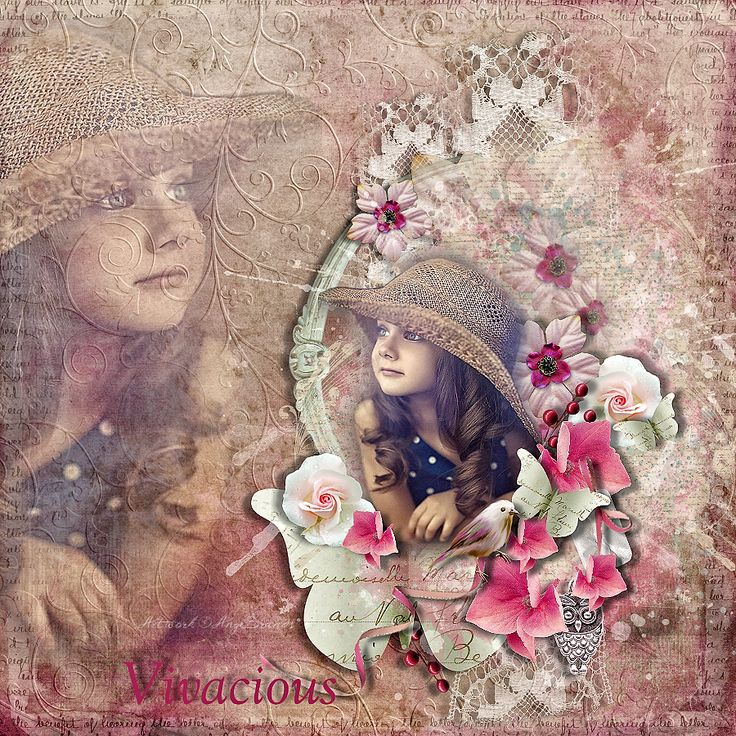 FLYING WITH BUTTERFLIES ARTWORK ©AngeBrands...All rights reserved  AMAZING BUNDLE....Vivacious - All In One With FWP By Laitha's Designs @ http://shop.scrapbookgraphics.com/Vivacious-All-In-One-with-FWP.html Photo Natalia Zakonova... Used with Permission