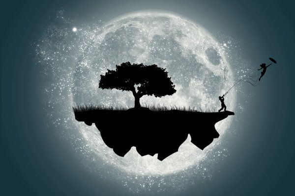 Fly me to the moon by geolab22.deviantart.com on @deviantART