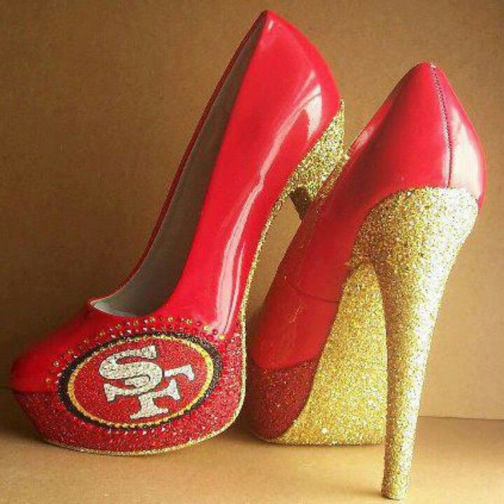 Sexy Niner Heels What Every Female Fan Needs