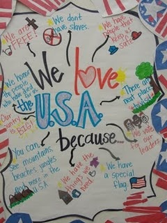 going to do this as a wrap up for my Celebrate Freedom week!