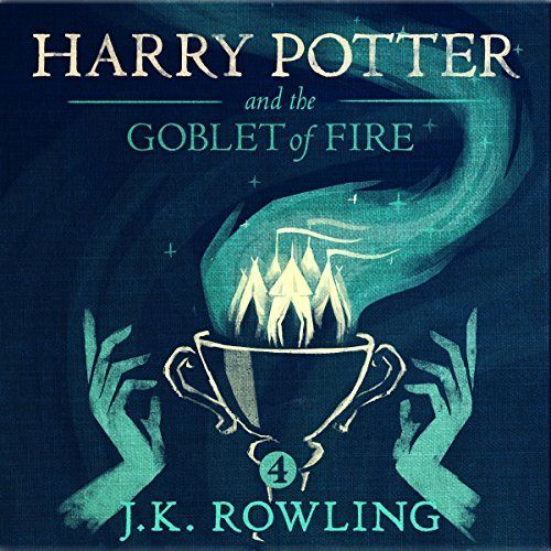 "Another must-listen from my #AudibleApp: ""Harry Potter and the Goblet of Fire, Book 4"" by J.K. Rowling, narrated by Jim Dale."