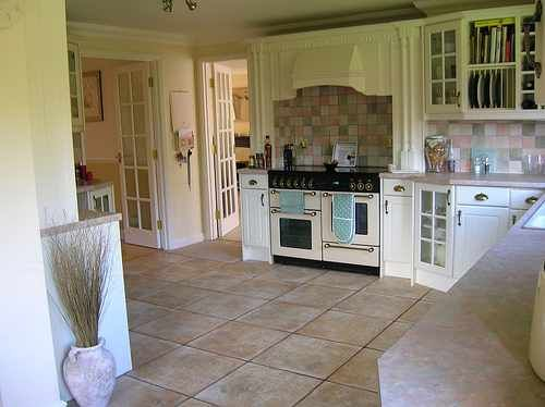 Kitchen Country Cottage Design Interior