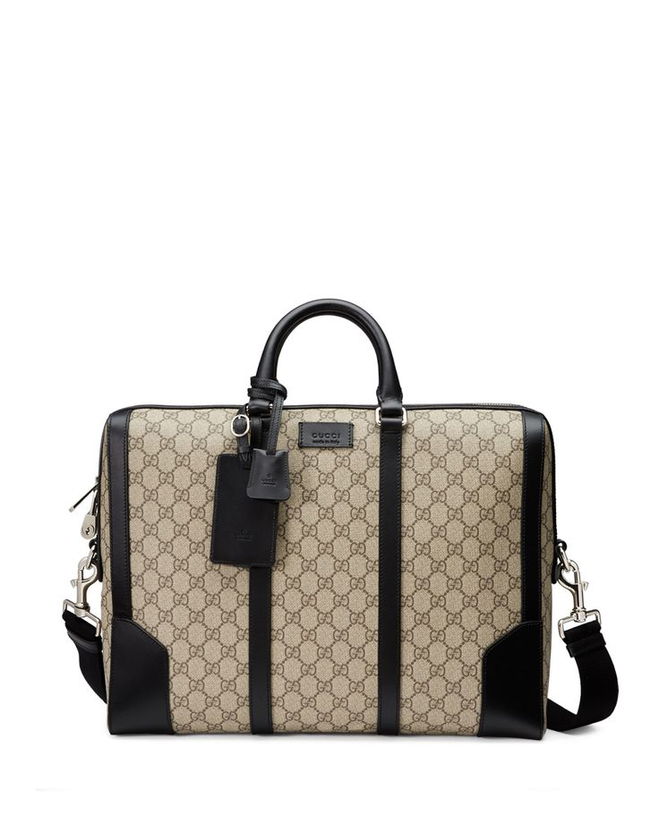 Gucci Gg Monogram Blue Top Handle Satchel Mens Womens Business Briefcase Bag 0yScBViRdk