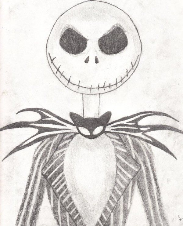 Of course one of the most famous skeletons of them all... Jack Skeleton!   What's this?... ;)