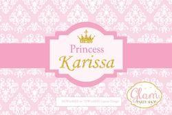 Princess pink and gold backdrop