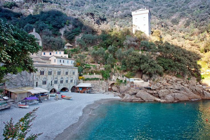 San Fruttuoso di Camogli, Liguria, Italy Any place in ...