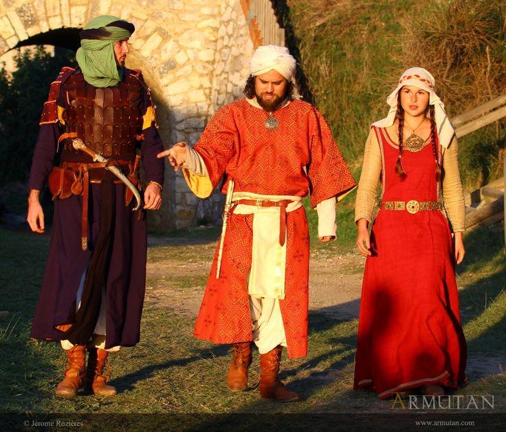 ©#armutan ©#jerômerozières #costumes #alandalus #moyenâge