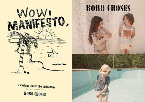 BOBO CHOSES bobo choses SS14  http://bit.ly/1i2Bsja