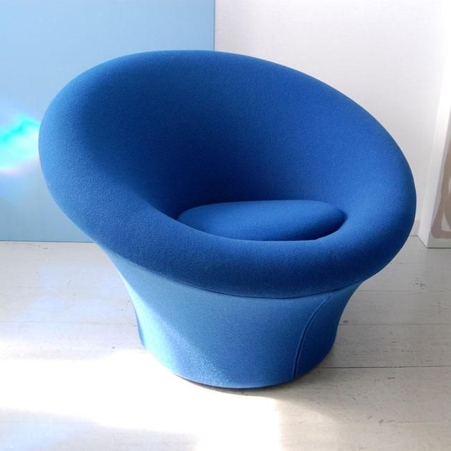 Pair of Mushroom Chairs by Pierre Paulin from Oljos at Rubylux.com
