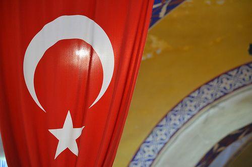 Red Turkey Flag
