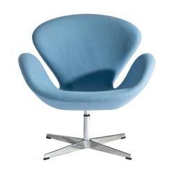Replica Arne Jacobsen Swan Chair - Fabric   Clickon Furniture   Designer Modern Classic Furniture