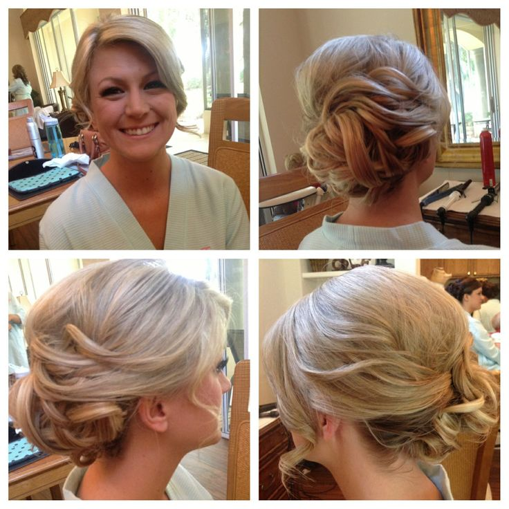 Bridal Hair {katiebutson via Instagram} | Wedding Hair | Pinterest