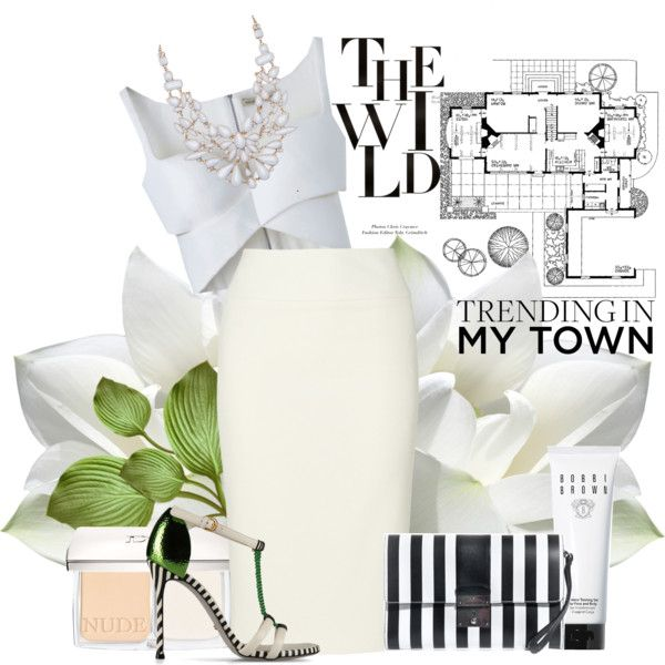 """white"" by dominikar on Polyvore"