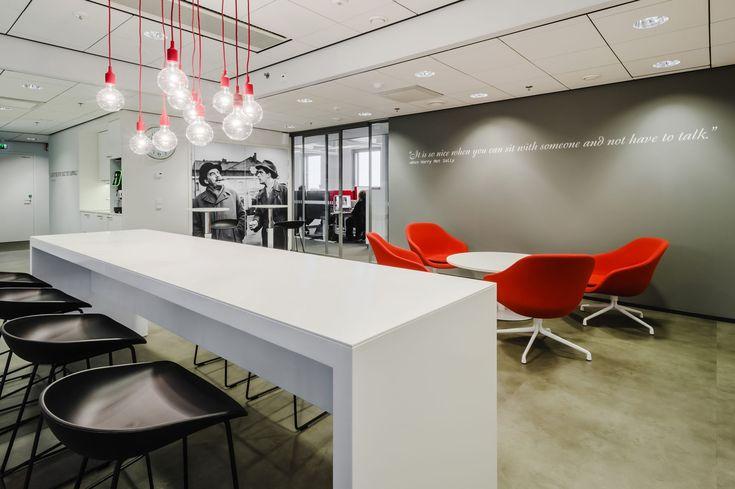 Finnkino's Movie Theater-styled Offices #Modern #Design #Office