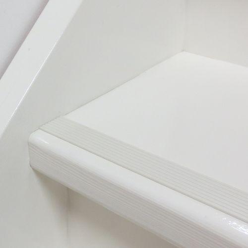 Antislip plak strip voor de trap. Wit Ral 9003 nergens anders verkrijgbaar. Bestel hier online.