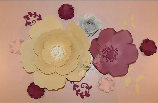 """""""Our new set of flowers! I like how the colors match 😍😍 DM or email for inquiry.  #picapture #flowers #mississauga #ontario #canada #eventplanner #weddingplanner #Micheals #paper #DIY #decor #homedecor #home #walldecor #mississauagaevents #planning #paperflower #paperflowerwall #paperflowerbackdrop #nurserydecor #papercrafts #craft #instalove #birthdayparty #caketable #1stbirthday"""" by @picapture.ca.  #bride #weddingday #weddingdress #weddingphotography #bridal #weddinginspiration…"""