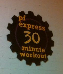The Planet Fitness 30 Minute Express Workout! I LOVED it!