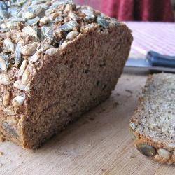 Фото рецепта: Простой домашний хлеб на кефире