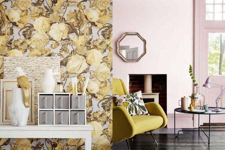 Het doorleefde hout of leer zorgt voor een stoer geheel. Voor een chiquer effect kies je voor de combinatie met goud of een klassieke print.