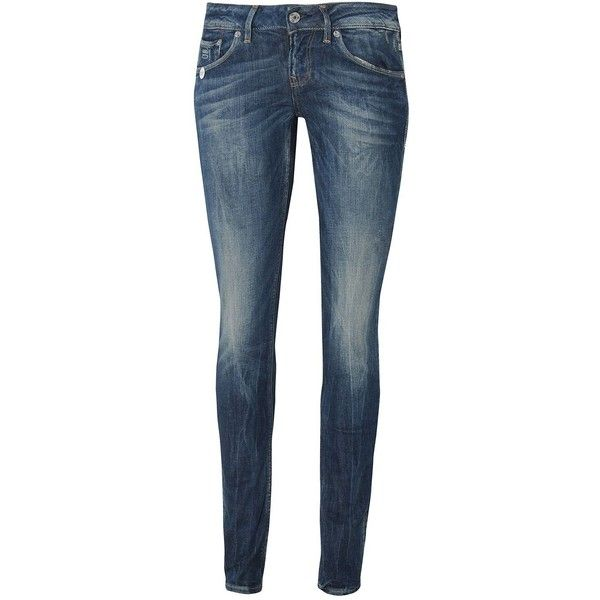 G-STAR 3301 Skinny Jeans ($52) ❤ liked on Polyvore featuring jeans, pants, bottoms, calças, pantalones, blue, g star raw jeans, skinny leg jeans, blue jeans and blue skinny jeans