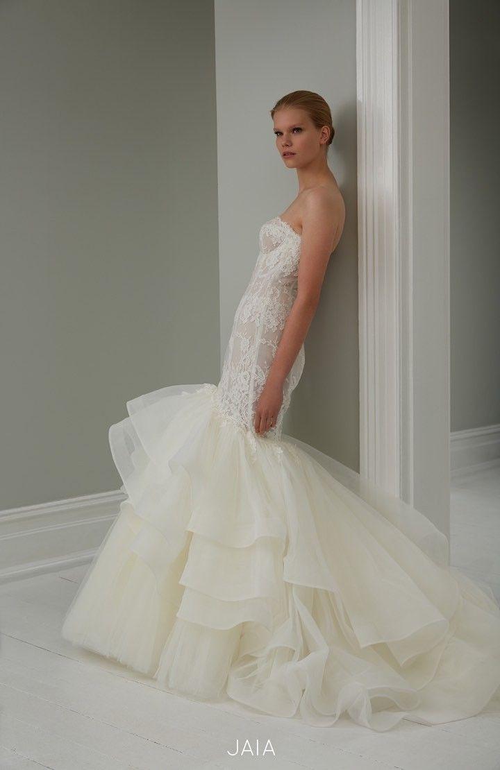 2015 Steven Khalil Wedding Dress Collection : http://www.itakeyou.co.uk/wedding/steven-khalil-bridal-2015-collection/ #weddingdress