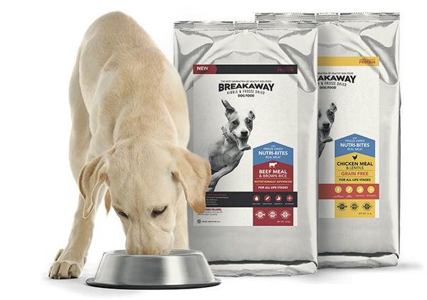 Request a free freeze dried dog food sample of Texas Mills Breakaway Dog Food. Available while supplies lasts. Hurry! Get your free dog food sample now!