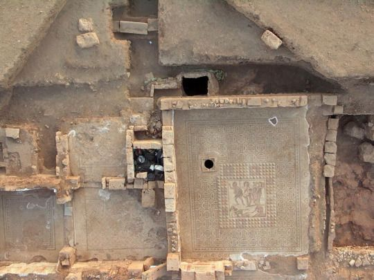 Archaeologists have unearthed statues, elaborate mosaics and other treasures in a 1,700-year old villa in Ptolemais, a key trading port for the ancient Romans on the Libyan...