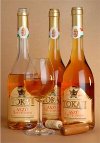 """In Tokaj, Hungary, the sweet golden Tokaji aszú wine is top-notch and highly sought-after (Louis XIV dubbed it the """"wine of kings"""")."""