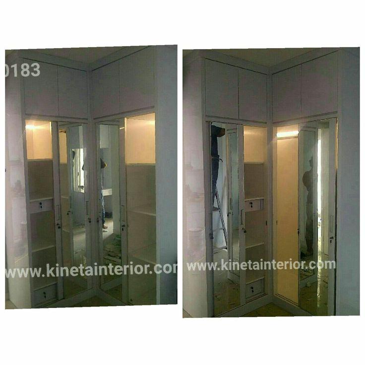Wardrobe / lemari finishing HPL
