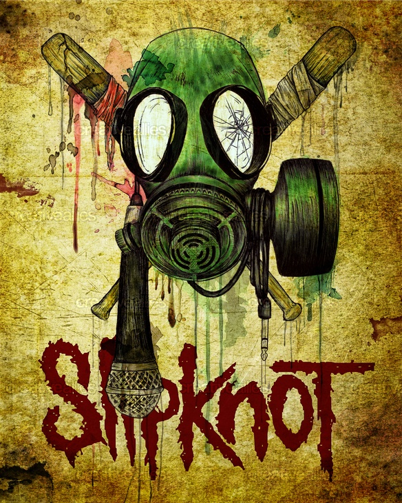 Slipknot Poster de Eduardo Limón