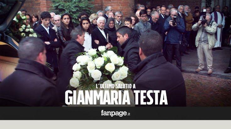 L'ultimo saluto a Gianmaria Testa. L'emozione di Erri De Luca e Michele ...