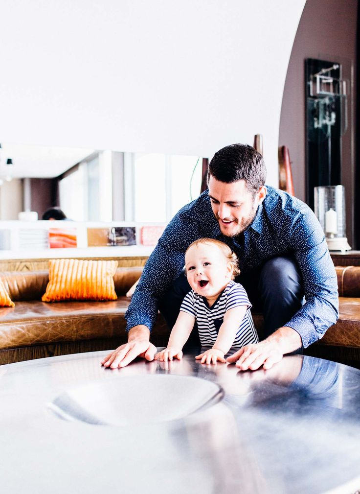"""""""Easy going, relaxed and optimistic"""" is how Waratahs captain Dave Dennis describes himself – all qualities he hopes he'll pass onto his 10-month-old son Francis."""