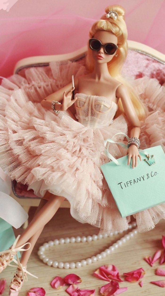 5 Transparent Glasses for FR Fashion Royalty Poppy Parker Barbie Silkstone doll