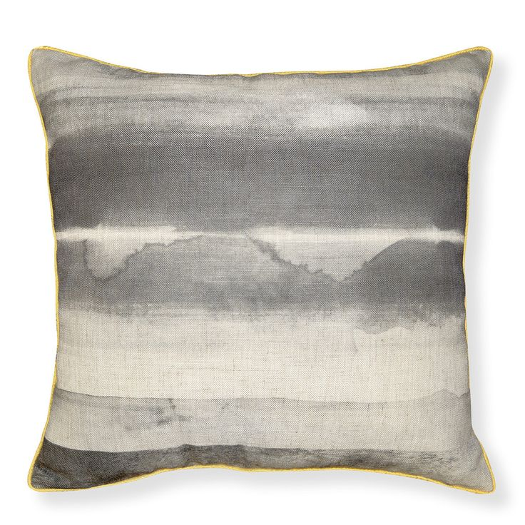 *ONLINE EXCLUSIVE* Paint Stripe Charcoal Cushion 50cm
