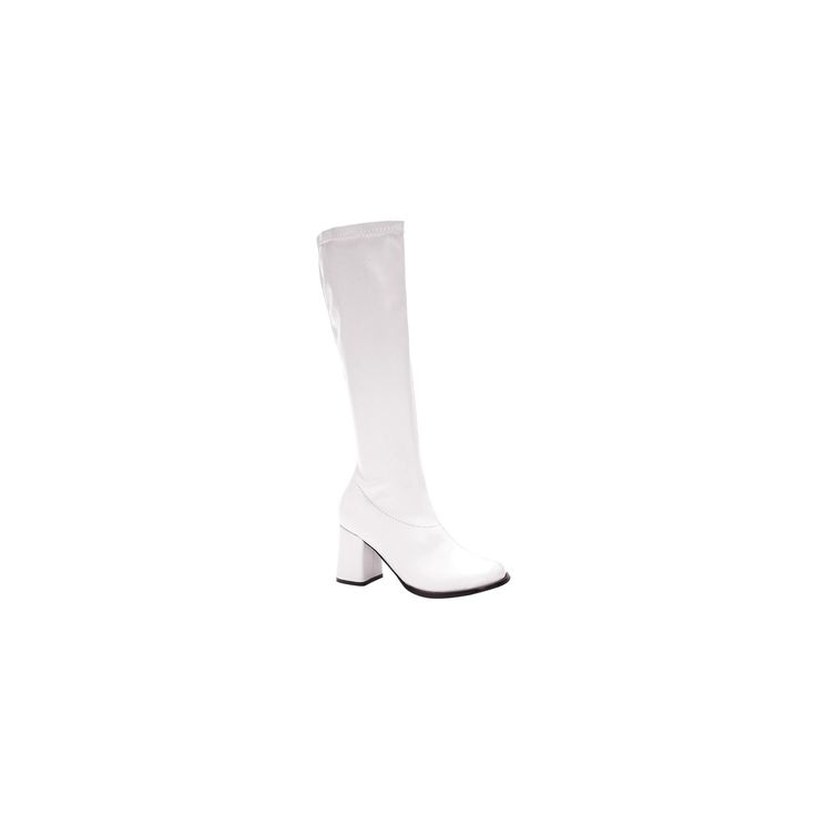 Adult Gogo Boots White Size 10, Women's, Size: 10.0, Variation Parent
