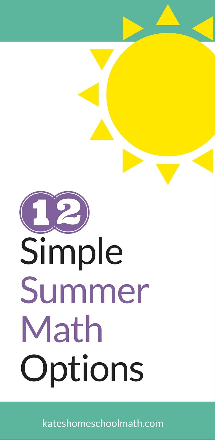 Prevent summer learning loss in your kids with these simple, inexpensive ways to keep their math skills sharp!