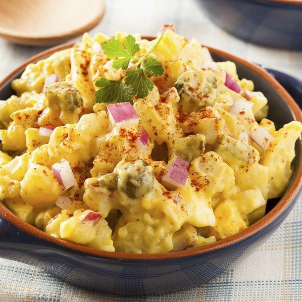 Pommes de terre à l'Indienne en salade