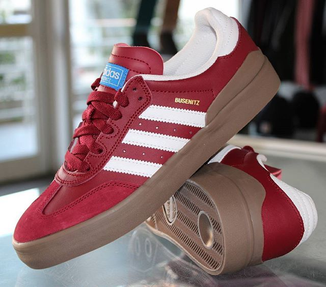 New Skate Show in stock !!! @adidasskateboarding Busenitz Vulc RX Burgundy White Gum now in store and online. Signature model @dennisbusenitz2 . Euro shipping, fast delivery, secure and paypal payment. Link in bio. #adidasskateboarding #adidas #skateshoe #dennisbusenitz #skate #skateboard #skateboarding #skateeverydamnday #skateshop #onlinskateshop #supportyourlocalskateshop #centralskateshop #frenchrivieira #roquebrunecapmartin